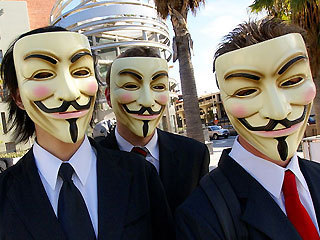 Anonymous hackers planning real-world attacks