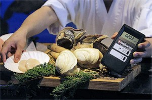 Gieger-Counter-Detects-Radiation-in-Japan-Seafood-300x198