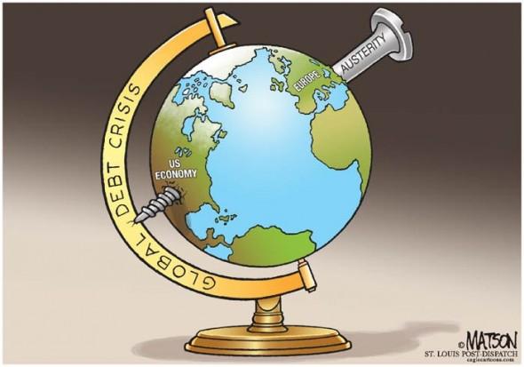 """""""Globális adósságválság - Megszorítások"""""""