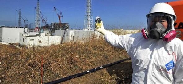 Fukusima worker
