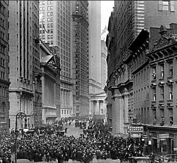 A Wall Street 1929. október 29-én