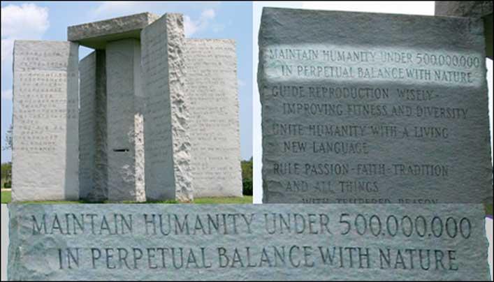 ?Tartsd az emberiséget 500,000,000 alatt, állandó egyensúlyban a természettel.?