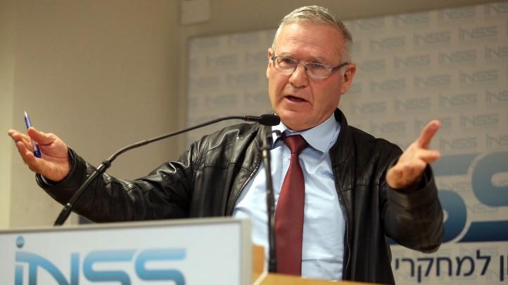Amos Yadlin, az Izraeli Védelmi Erők volt parancsnoka (photo credit: Gideon Markowicz/Flash90)