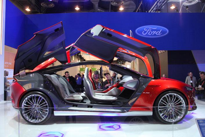 Új Ford koncepció autó