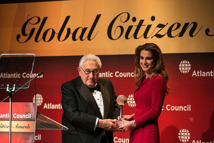 Az Atlanti Tanács Globális Állampolgár Díjának átadása, 2013, New York City