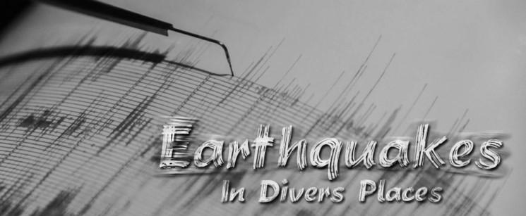 EarthquakesInDiversPlaces