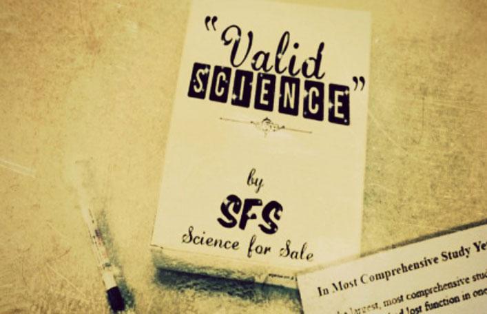 ?Érvényes tudomány? ? Szerző: SFS, Megvásárolható Tudomány
