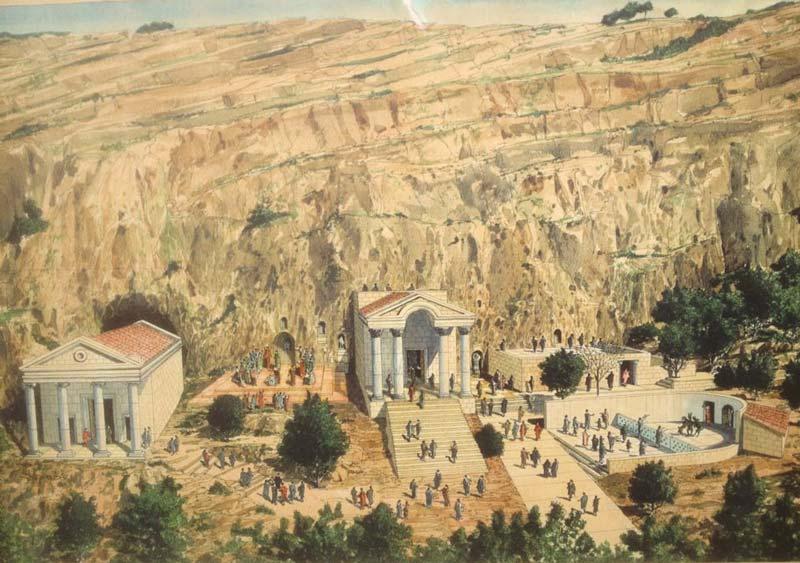 """""""Történészek szerint egykor 20 pogány templom állt Hermon hegyén és környékén"""""""