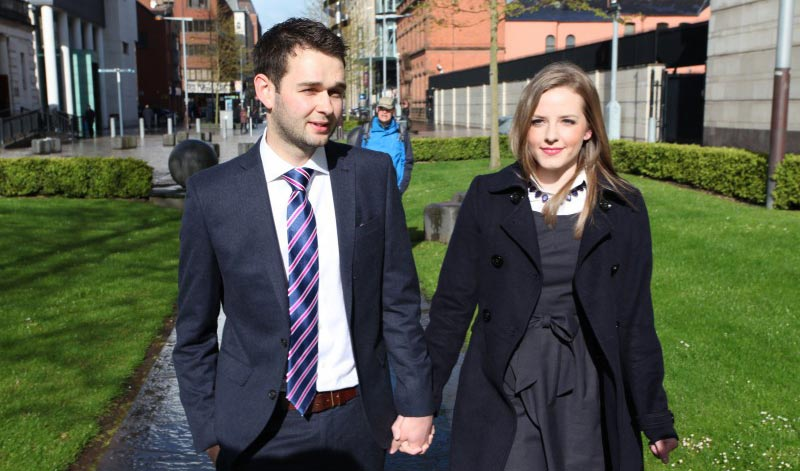 Daniel és Amy McArthur