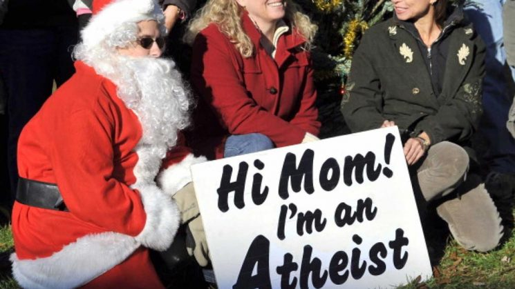 """Helló Anya! Ateista vayok."""