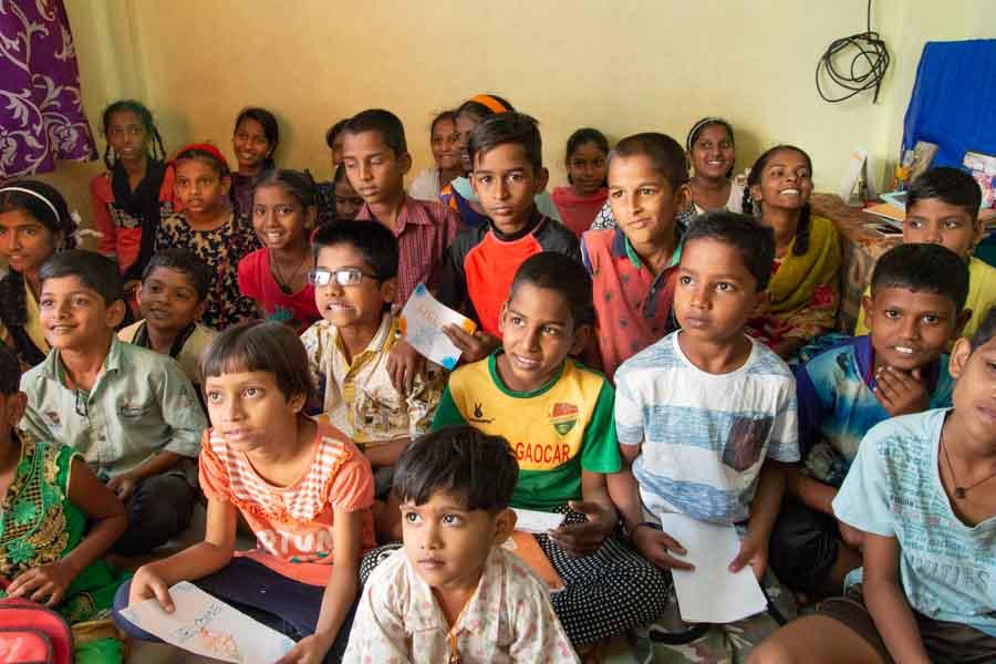 Iskola szegény körülmények között élő gyerekeknek