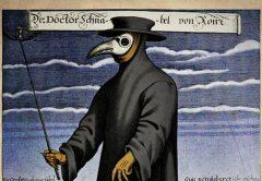 Orvosi védőfelszerelés a bubópestis idején a XVII. században